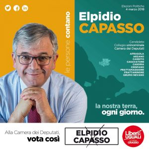 Intervista ad Elpidio Capasso candidato alla Camera