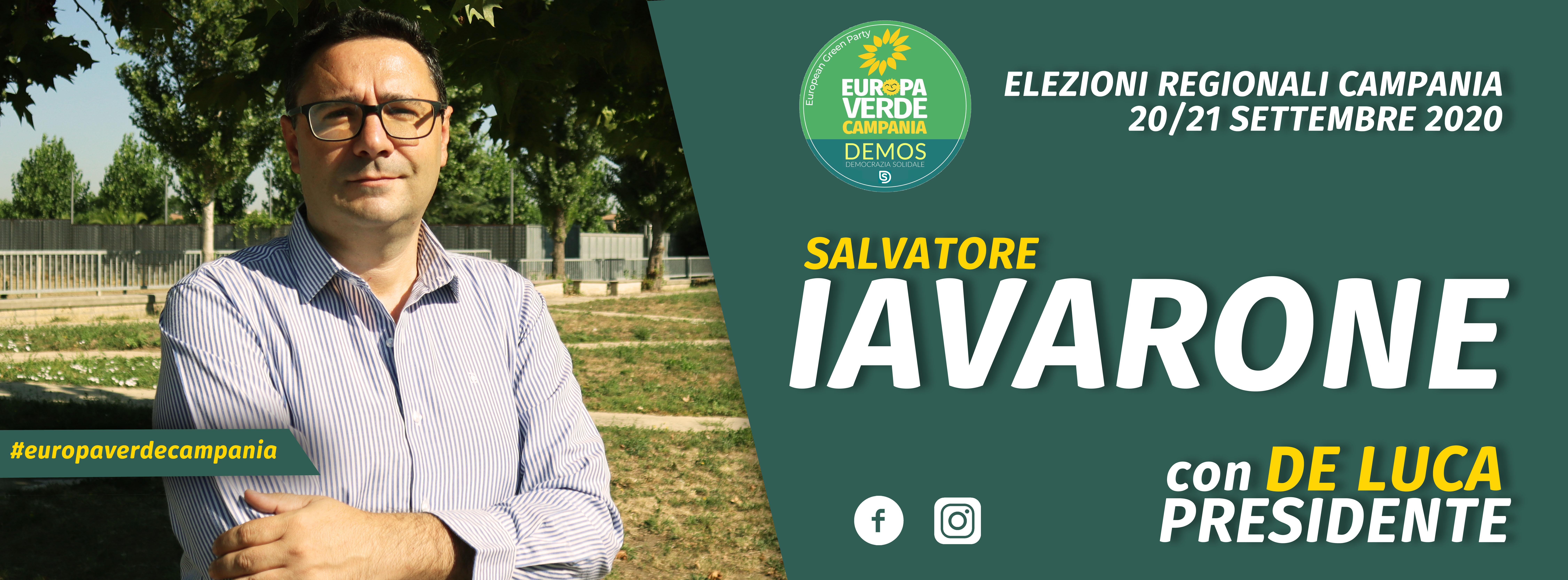 Donare alberi per riscattare il territorio: la proposta di Salvatore Iavarone, candidato al consiglio regionale con Verdi Europa Verde