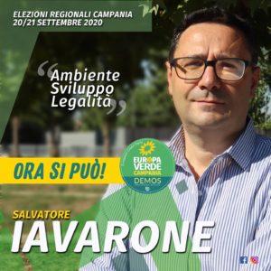 Passione e territorio al centro dell'impegno di Salvatore Iavarone, candidato per i Verdi Europa Verde al Consiglio regionale